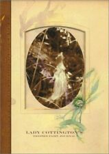 Lady Cottington's Pressed Fairy cream Journal (2003) hardback Brian froud