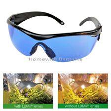 LUMii Grow Room Glasses Growroom Lenses Hydroponics Daylight Vision Anti Glare