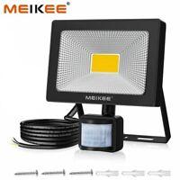 50W Lampe LED Détecteur De Mouvement Projecteur Spot Extérieur Étanche JARDIN FR