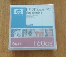 HP DLT tape VS1 Data Cartridge 160GB C8007A - NEW, Factory Sealed.
