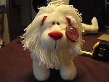 """First & Main, """"Lovin' Leopold"""", V6075, Stuffed White Lion"""