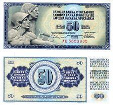 YUGOSLAVIA 50 Dinara Banknote World Paper Money UNC Currency Pick p89a 1978