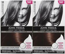 2 Pack - John Frieda - Precision Foam Hair Colour - Medium Chocolate Brown - 5B