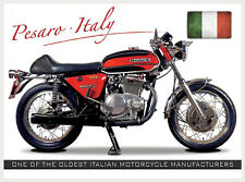 Large Benelli bike Vintage Metal Tin Sign Poster Bar Garage Wall Decor 40x30cm