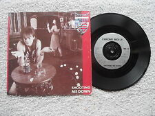 "CHROME MOLLY SHOOT ME DOWN IRS RECORDS 7"" VINYL SINGLE in PICTURE SLEEVE NWOBHM"