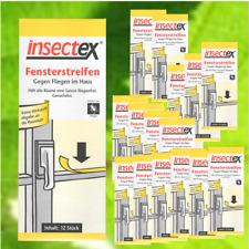 Terrasan Insectex Fliegenköder Fensterstreifen 12-72 Stück °GB