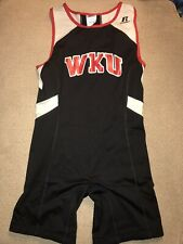 Men's Western Kentucky Toppers Wrestling Singlet Track Running Unitard Medium M