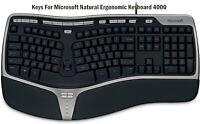 KEYS FOR Microsoft Natural Ergonomic Keyboard 4000 (KU-0462 X823051-001)