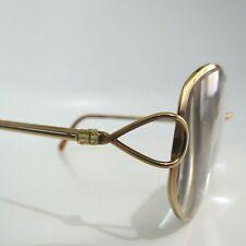 Vintage Christian Dior Women's Rx Glasses Frames Metal