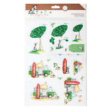 A4 Pearlescent Decoupage (2pk) - Hot Diggity Dog - Great Outdoors