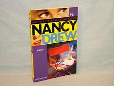 Nancy Drew Girl Detective #6 Action! pb Mystery Carolyn Keene