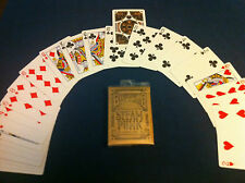 Invisible deck magic Bicycle Steampunk playing cards!