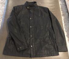 NWOT Theory Aldwin Ramport Mens Waxed Cotton Moto Jacket XL 44 $595