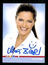 Maxi Biewer RTL Autogrammkarte Original Signiert # BC 84969