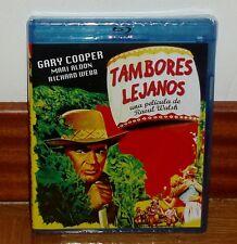 TAMBORES LEJANOS BLU-RAY NUEVO PRECINTADO GARY COOPER AVENTURAS (SIN ABRIR) R2