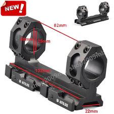 25mm-30mm Scope Ring Mount QD Auto Lock Fit Weaver Picatinny 20mm Rail For Rifle