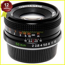 Obiettivo Yashica ML 50mm f2 per fotocamere reflex analogiche Contax/Yashica