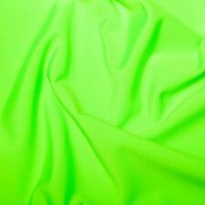 Flo green Lycra/Spandex Stretch Dance/Dress/Sport Fabric150cm Wide SOLD BY THE M