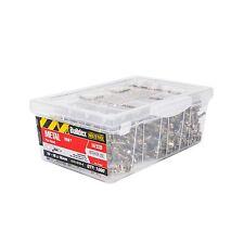 Buildex HEX HEAD METAL TEK SCREWS 10-16x16mm 1000 Pieces, Zinc Plated*Aust Brand