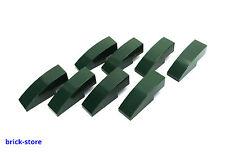 LEGO®  Nr- 4267850 / 1x3 Bogenstein Dachstein dunkel grün  / 8 Stück