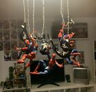 spider man custom Magnet web 1 Foot marvel legends/mafex figuers not included