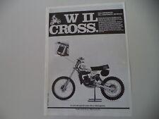 advertising Pubblicità 1979 MOTO TGM 125 C '80 CROSS