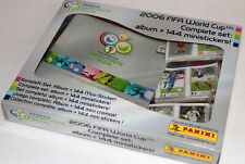PANINI GERMANY FIFA  2006 WORLD CUP COMPLETE SET ALBUM + 144 LOOSE MINISTICKERS