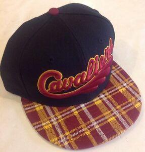 "Cleveland Cavaliers NBA New Era 9Fifty ""Team Plaid"" Snapback Hat Cap"