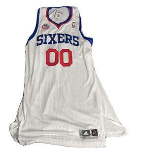 NBA Philadelphia 76ers Spencer Hawes Authentic Autographed Jersey Sz:2XL+L2 Nwt