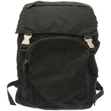 Auth PRADA Nylon Backpack Black color U0891AA4