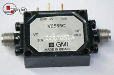 1×NEW GMI V2555B or V2555C 10GHz 9.95-10.66GHz 12V DC/150mA SMA Oscillator /VCO