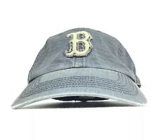 MLB Boston Red Sox '47 Brand Gray Baseball Cap Hat Fitted Men's Small Cotton