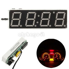 DS3231SN 3 in 1 LED Digital Clock Temperature Voltage Module DIY Electronic Red