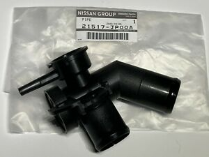 NEW OEM Nissan Radiator Coolant Filler Neck Pipe Quest Murano Genuine 21517JP00A