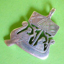 W109 / PENDENTIF EGYPTIEN ARGENT 925