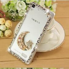 Lady's Glitter Jewelled Bling Crystal Diamonds Soft Phone back Case Cover A9