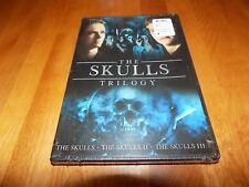 THE SKULLS TRILOGY I II III 1 2 3 Horror Classic Series 2 Disc DVD SET NEW