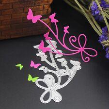 Butterflies Cutting Dies Stencil DIY Scrapbook Embossing Album Paper Card Craft