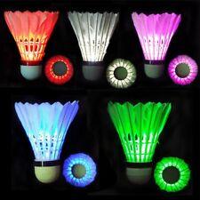 1pcs Pack LED Luminous Badminton Newfangled Dark Night Glow Lighting Shuttlecock