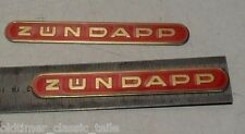 Sticker Tank Zündapp Lettering 13cm RED GOLD KS GTS 515 517 442-10.193 SET
