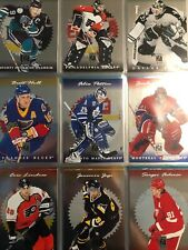 1996-97 Donruss Elite Set 1-50 Includes All Big Names And Rookies NM Iginla RC