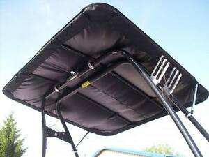 BIMINI SHADE CANOPY mounts above wakeboard tower wake board, EXTRA LARGE 6.5x6.5