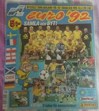 Panini UEFA EURO 1992 Sticker Album COMPLETE SWEDISH EDITION VERY RARE