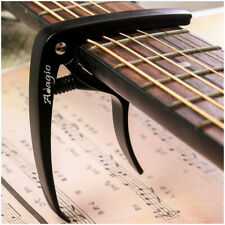 More details for adagio pro capo for acoustic, electric and classical guitars rrp £10.99 black