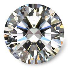 Moissanite DF Colorless Simulated Diamond Loose Stone 0.1 Carat Round Cut