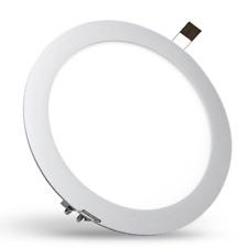 LEDfux LED SLIM Panel  Einbaustrahler rund Ø 24 CM 14 Watt warm weiß 230V/AC