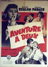 """AVENTURE A DEUX (THE VOICE OF THE TURTLE)"" Affiche originale (Ronald REAGAN)"
