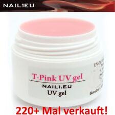 10ml 1-Phasen-Gel NAIL1.EU T-PINK rosa milchig, BABYBOOMER UV Gel, Allround-Gel