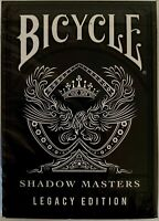 Bicycle Ellusionist Shadow Masters Legacy Edition V2 Playing Cards Magic Poker
