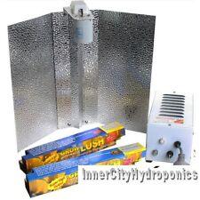 400W GROWLUSH HPS+ MH HYDROPONICS ALUMINIUM LIGHTING KIT WITH 2 LAMPS